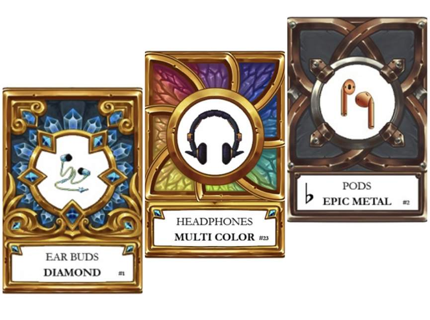 Коллекция карт Crypto Buds