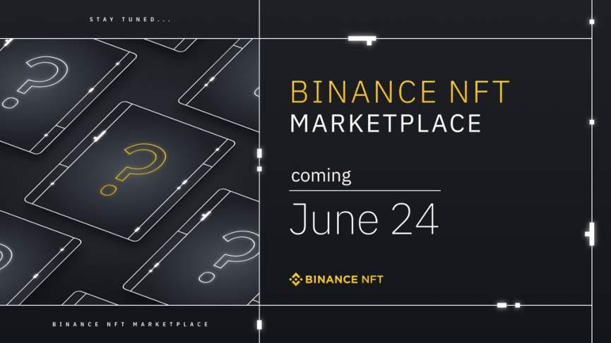 Binance запускает NFT-маркетплейс: дата и кто будет участником 1