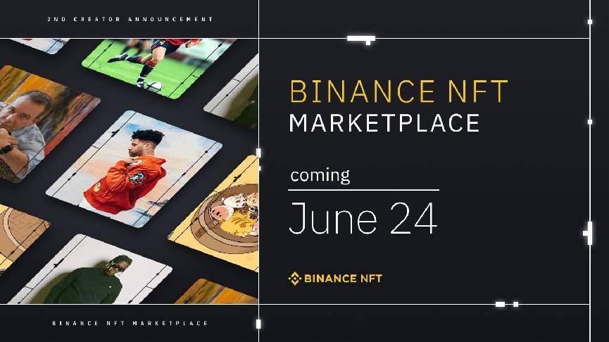 Binance представляет кампанию 100 Creators Campaign2