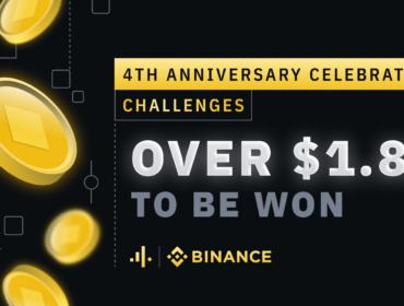 Binance празднует четвертую годовщину
